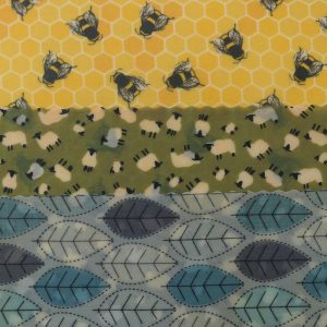 Bees, Sheep & Blue Leaves