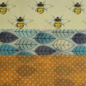 Midi Trio - Bees & Blue leaves