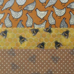 Chicken, Bees & Dots