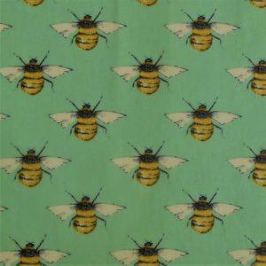 Midi Single - Green Bees