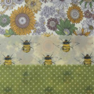 Flowers, Bees & Dots