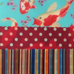 Koi, Dots & Stripes