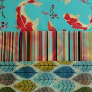 Maxi Trio - Koi, Stripes & Leaves