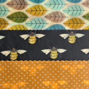 Leaves, Bees & Dots