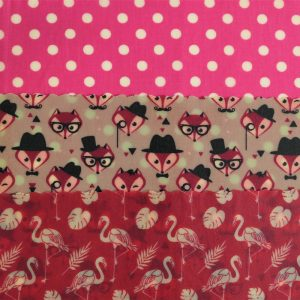Midi Trio - Fox & Pink dots
