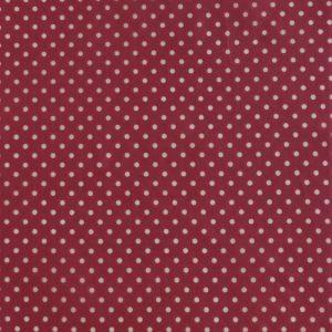 Mini Single - Dark Pink dots