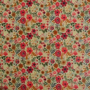 Bread Wrap - Red Floral