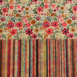 Maxi Duo - Stripes & floral