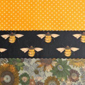 Medium Kitchen - Yellow Dots & Black Bees