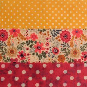 Mini Trio - Yellow Dots & Floral